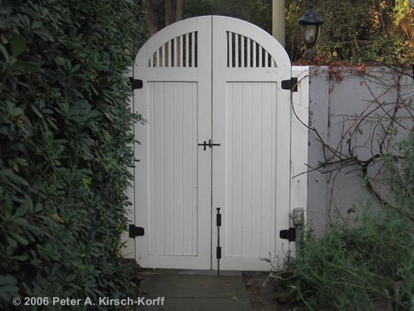 Are Garden Gates Designed To Keep Us Out Or To Keep Them In