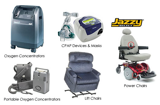 Types Of Home Medical Equipment