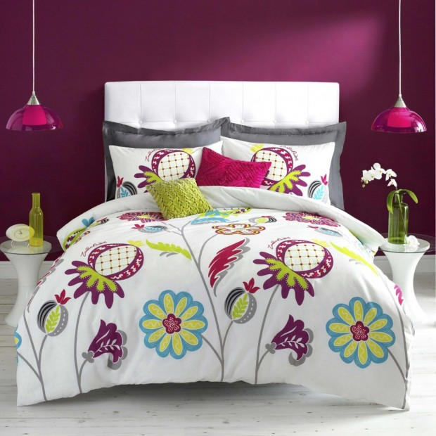 Brighten Up The Bedroom With Colourful Duvet Covers