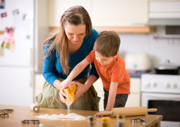 Getting Your Children To Help In The Kitchen