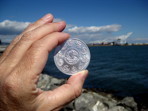 Silver coins come in many designs.