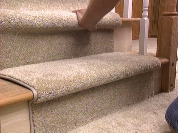 Install A Carpet Stair Runner To Brighten Up Your Stairs