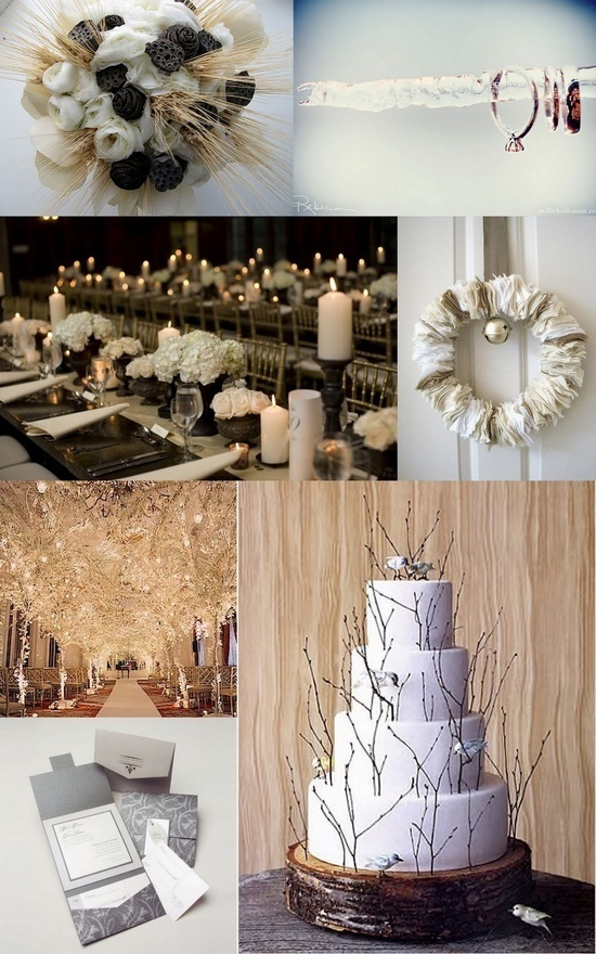 Inspiration For Your Winter Wedding
