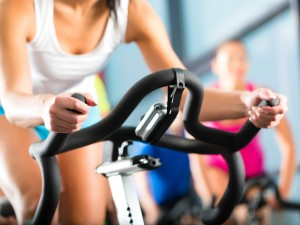 Spinning Class - Courtesy of Shutterstock