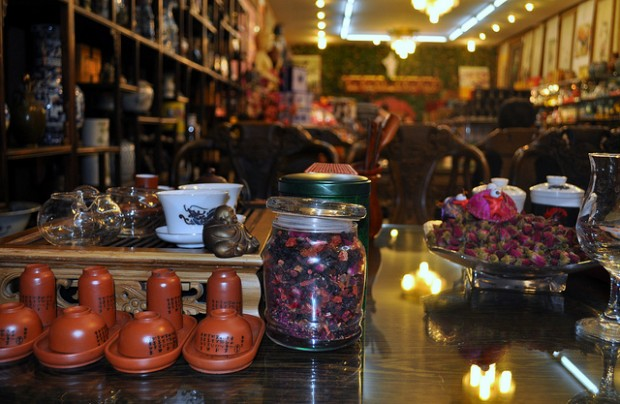 Teahouse Etiquette — and a Warning